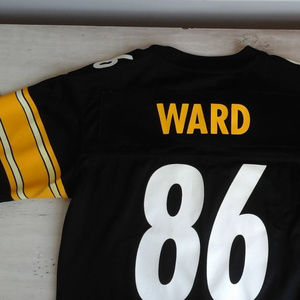 Pittsburgh Steelers NFL Reebok Jersey #86 H. Ward